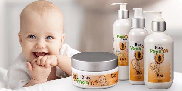 Dětská tělová kosmetika OnlyPapaya