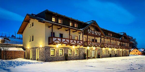 Česká zima v hotelu Relax na Lipně