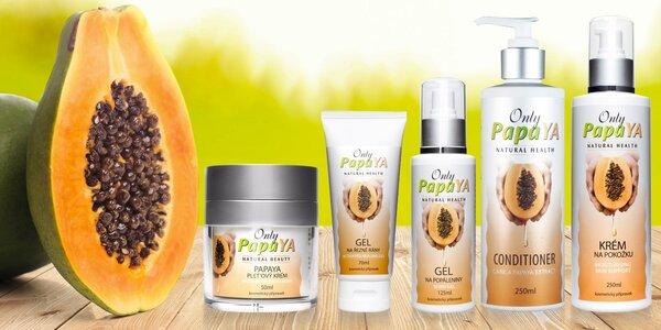 Přírodní tělová kosmetika Only Papaya