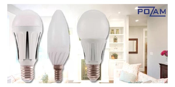 Úsporné LED žárovky – teplé i studené barvy [280 až 800 lm]