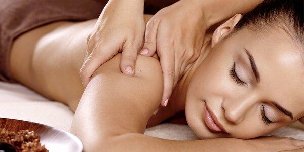 60minutová Breussova masáž i chodidel + zábal