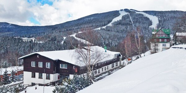Třídenní lyžovačka v horském hotelu ve Špindlu