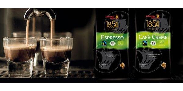 Zrnková káva v BIO kvalitě