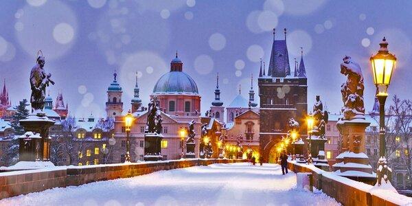 Zimní romantický pobyt v centru Prahy s bohatou snídaní
