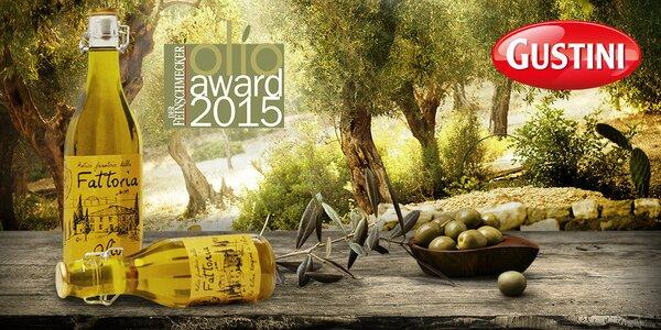 Olivový olej z Itálie Vítěz Olio Award 2015