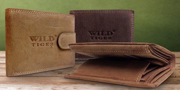 Luxusní pánské peněženky z pravé kůže