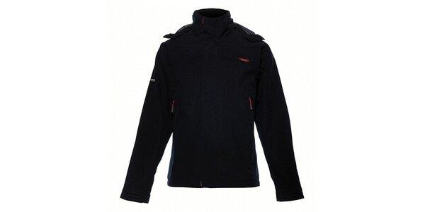 Pánská černá nepromokavá bunda Envy