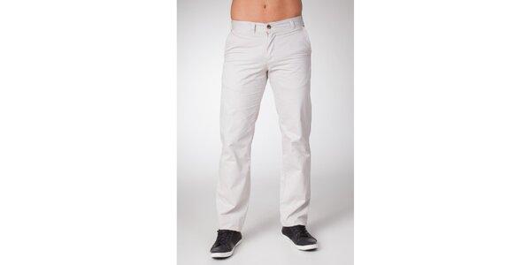Pánské bílé chino kalhoty Bendorff