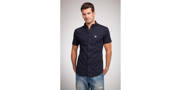Pánská tmavě modrá košile Bendorff