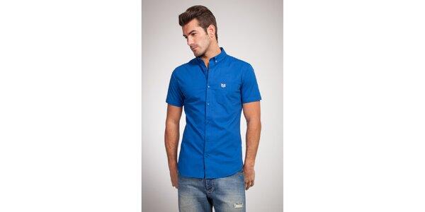 Pánská sytě modrá košile Bendorff
