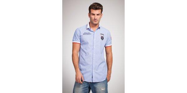 Pánská světle modrá košile Bendorff
