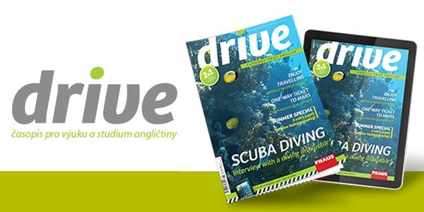 10 čísel anglického časopisu Drive s elektronickou verzí