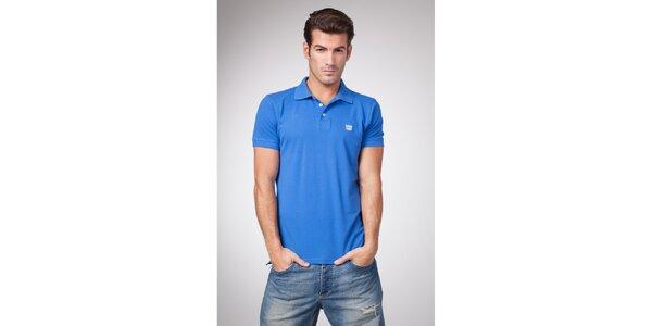 Pánské nebesky modré polo tričko Bendorff
