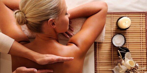 Relaxační mořská nebo citrusová masáž