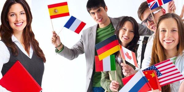 Novoroční jazykové kurzy Aj, Nj, FJ, Šj a Ij