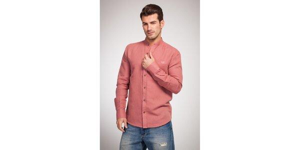 Pánská tmavě růžová košile Bendorff