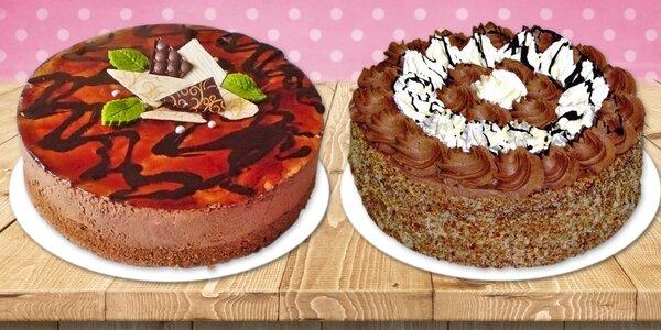 Luxusní dorty z cukrárny Pierot - výběr ze 3 druhů
