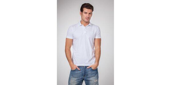 Pánské bílé polo tričko Bendorff