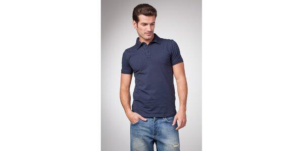 Pánské modré polo tričko Bendorff