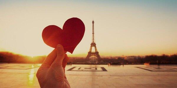 Oslavte Valentýna v romantické Paříži