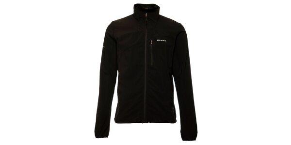 Lehká pánská černá softshellová bunda Envy