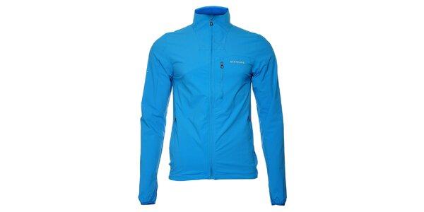 Lehká pánská zářivě modrá softshellová bunda Envy