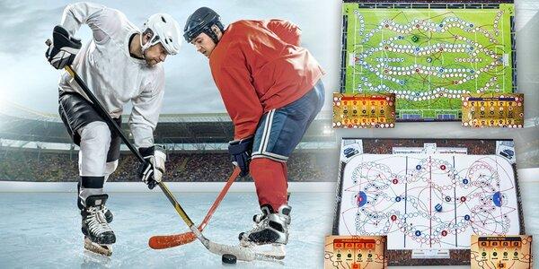 Obří deskové hry Mega Fotbálek a Mega Hokej