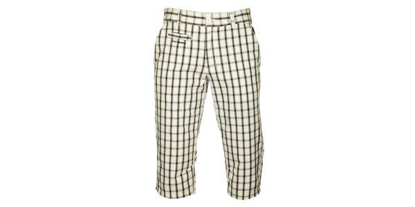 Pánské černo-bílé kostkované 3/4 kalhoty Envy