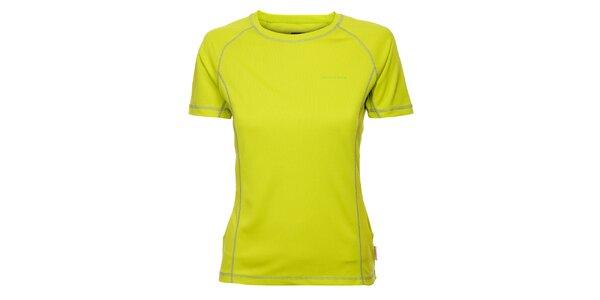 Dámské limetkové funkční tričko Envy