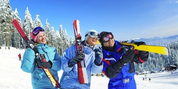 Pronájem apartmánu a lyžování až pro 9 osob v Tatrách