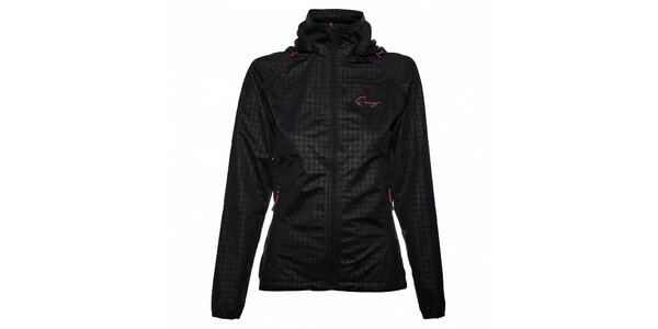 Dámská černá softshellová bunda Envy