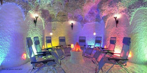 Vstup do solné jeskyně Beruška