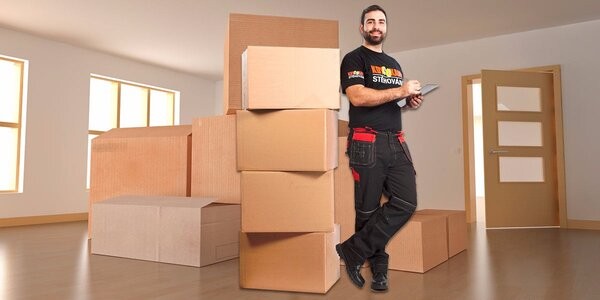 Stěhování bez starostí - v ceně auto, stěhováci i obaly