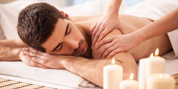 Masáže pro muže - masáž hlavy a obličeje nebo těla