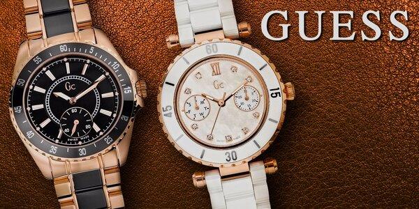 Švýcarská kolekce luxusních hodinek Guess