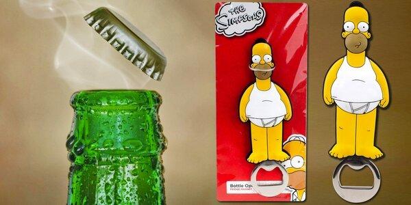 100% originální otvírák Homer Simpson