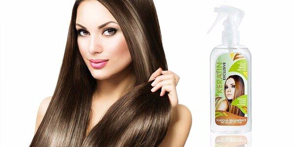 Keratin Exclusive – regenerační kúra pro zdravé a lesklé vlasy