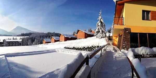 Aktivní zimní wellness pobyt na Oravě