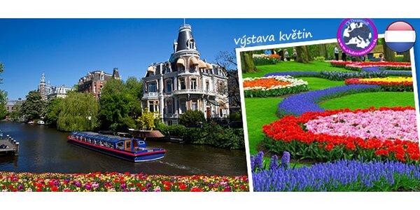 Výlet za holandskými tulipány pro jednoho