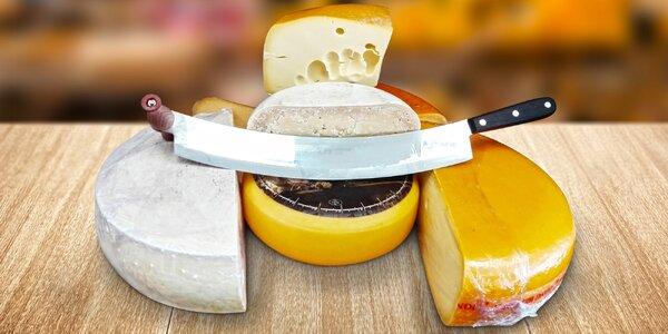 30% sleva na nákup sýrů v prodejně Jarmark