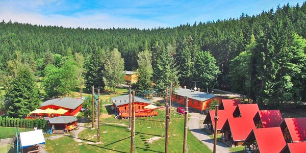 Relaxační pobyt v rekreačním areálu Baldovec