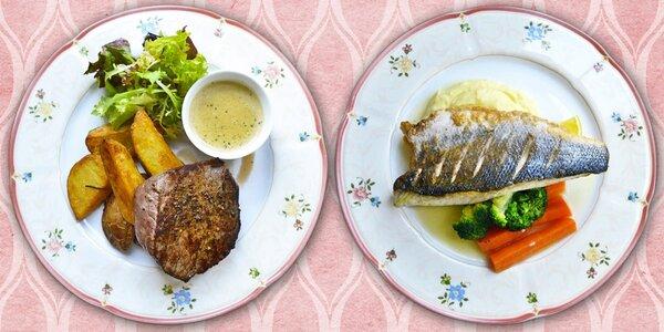 Sestavte si luxusní menu v Kajetánce