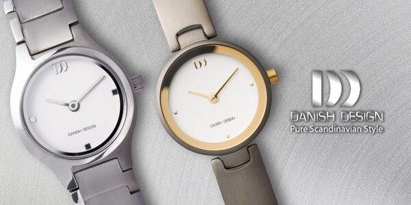 Dámské titanové hodinky Danish Design