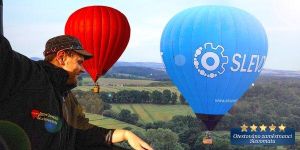 Zážitkový let do nebe horkovzdušným balónem