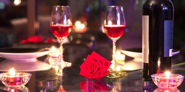 Valentýnský pobyt s večeří při svíčkách
