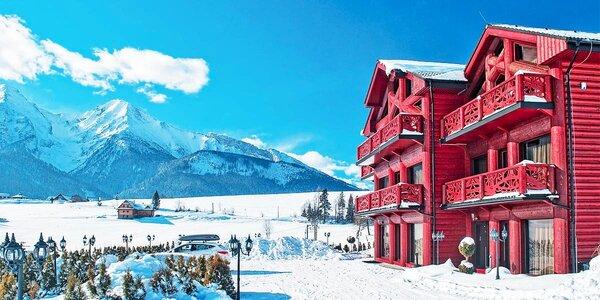 Dovolená v překrásných apartmánech v Tatrách