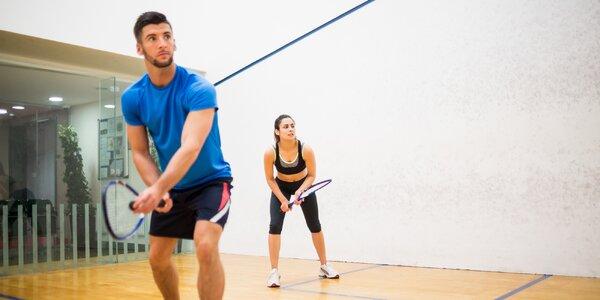 Hrajte badminton či squash s profi trenérem