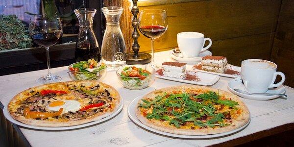 Romantická večeře v restauraci Dobrá karma