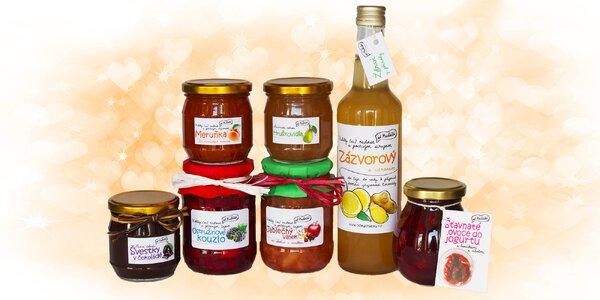 Balíčky plné ovocných dobrot od Macháčků