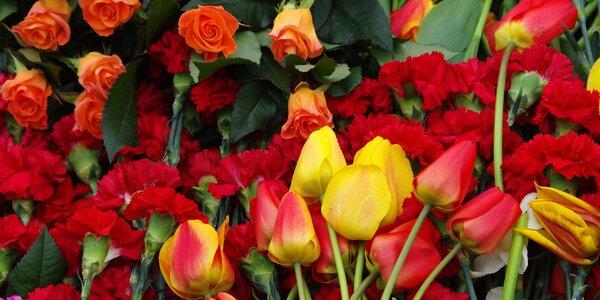 Romantické kytice nejen z lásky
